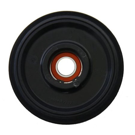 PPD Black Idler Wheel 141MM O.D. X 25MM I.D. for BOMBARDIER/SKI-DOO Expedition TUV 1200 H.O SDI REV-XU 2009-2010