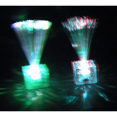 LED Assorted Color Fiber Optic Centerpiece (EACH), By Mardi Gras Spot - Mardi Gra Centerpieces