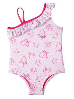 81df614646 Toddler Girls One-piece Swimsuits - Walmart.com