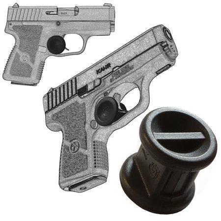 2 Pack Kahr P380 ACP 380, All Kahr Models Adjustable Quick Release Micro Holster Trigger Stop Garrison Grip, Black,