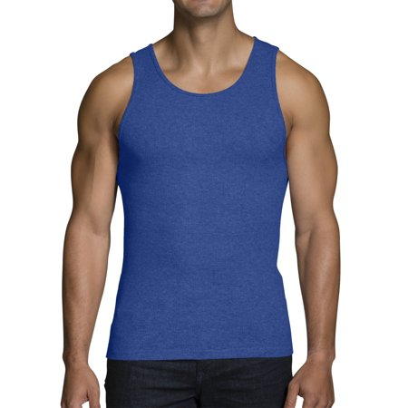 e5a9cf07241fa Fruit of the Loom - Big Men s Dual Defense Assorted A-Shirts Extended Sizes