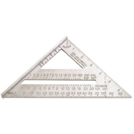 Johnson Level   Tool Ras 1 7 Inch Aluminum Rafter Angle Square