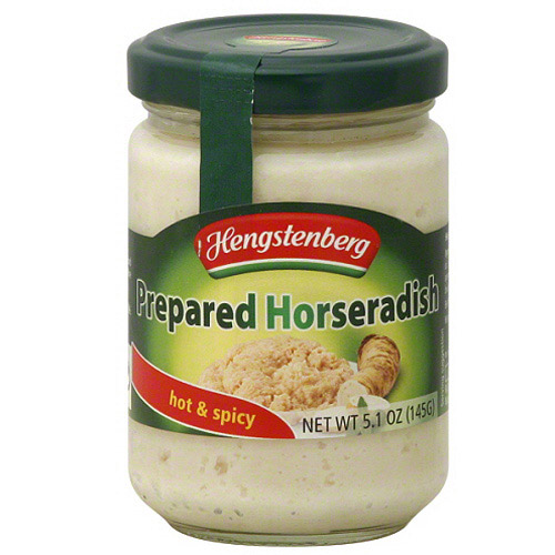 Hengstenberg Prepared Horseradish, 5.1 oz, (Pack of 12)