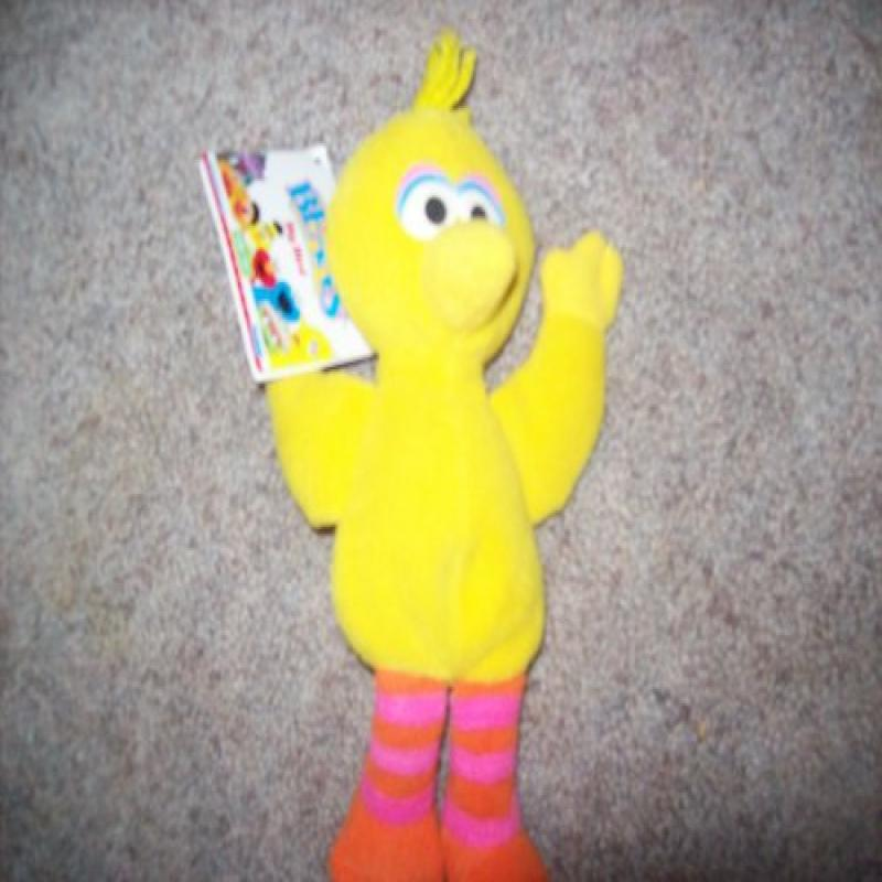Sesame Street 1997 Big Bird Collectible Bean Bag (Sesame Street Beans) by Tyco
