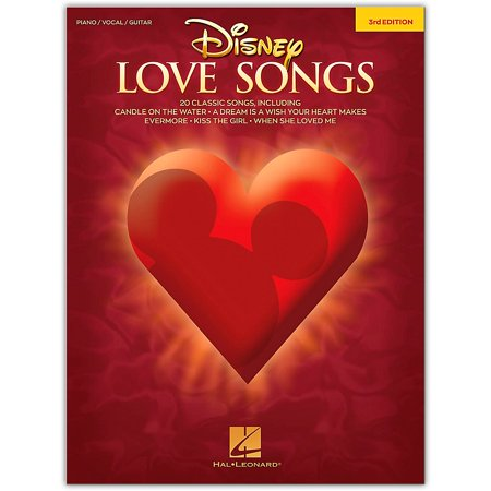 Hal Leonard Disney Love Songs - 3rd Edition Piano/Vocal/Guitar Songbook