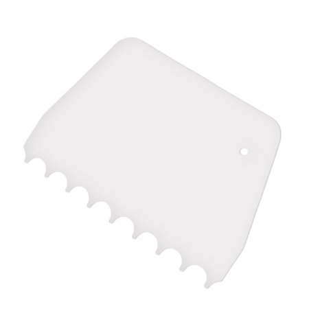 Plastic Cake Edges Scraper Cream Icing Smoother DIY Cakes Decorating Spatula Tool Set Rectangle Triangle - image 6 of 6