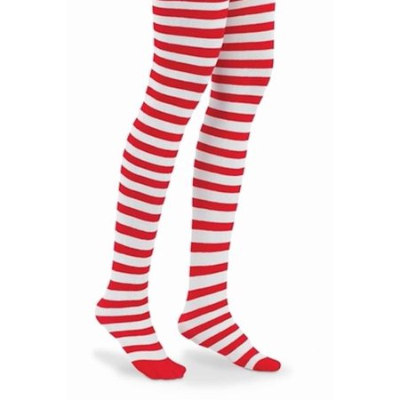 Striped Tights For Kids (L C Boutique Stripe Striped Footed Tights Ages 2-14 Hot Pink Lime Orange Black Red)