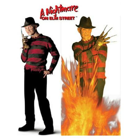 Nightmare on Elm Street Freddy Krueger Life Size Decals](Life Size Freddy Krueger)