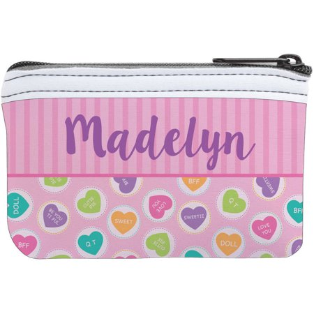 Candy Hearts Personalized Coin - Candy Purses