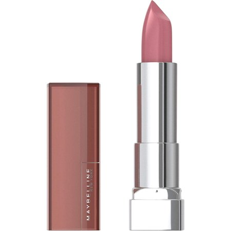 Maybelline New York Color Sensational Nude Lipstick, Satin Lipstick, Warm Me Up, 0.15 Ounce, 1 Count Lipstick New Color