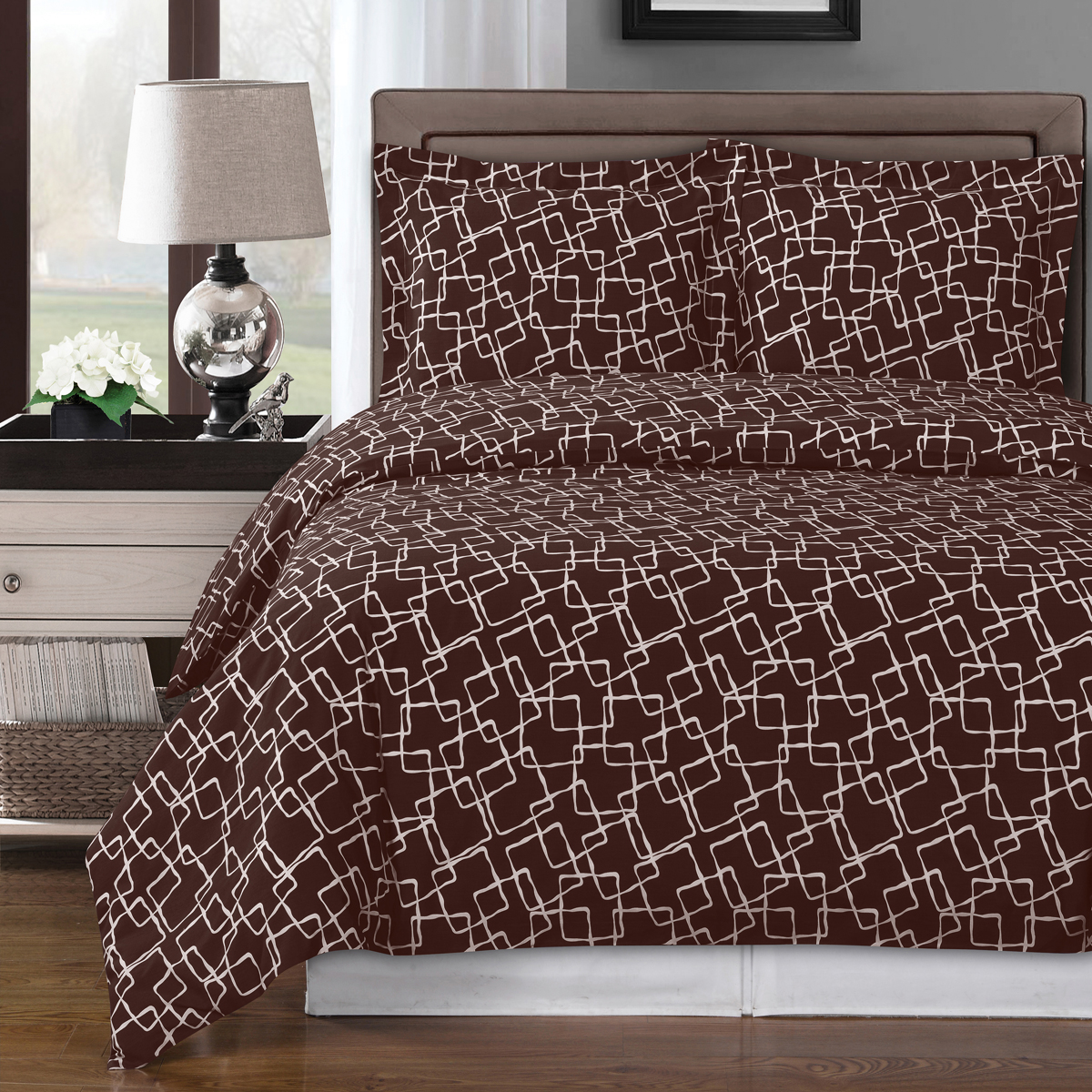 Eva Cotton Duvet Covers Set