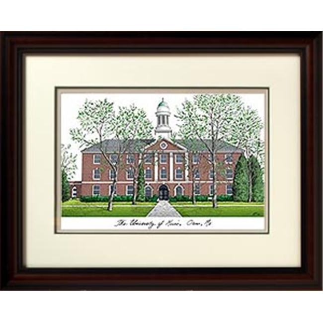 Campus Images ME999R Maine University Alumnus with Solid Wood Frame