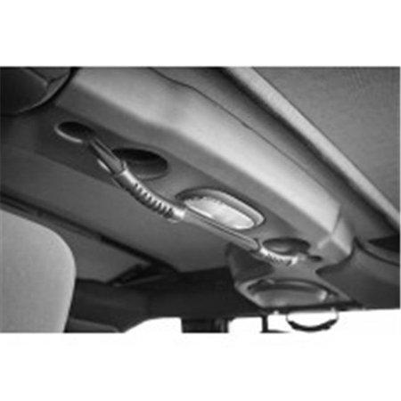 Rear Dual Grab Strap, Black, 07-14 Jeep Wrangler Unlimited JK - image 1 of 1