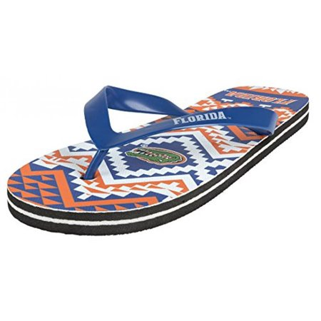Forever Collectibles College Flip - Flop Womens Aztec - Pick Team (Small, University of Florida) ()