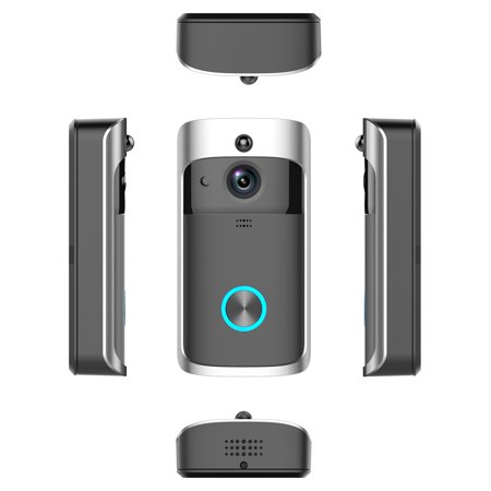 Wireless Battery Video Doorbell Home Security WiFi Smartphone Control Door Bell Camera - image 11 of 12