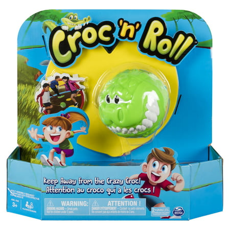 Croc 'n' Roll - Fun Family Game for Kids Aged 3 and Up - Team Building Games For Halloween
