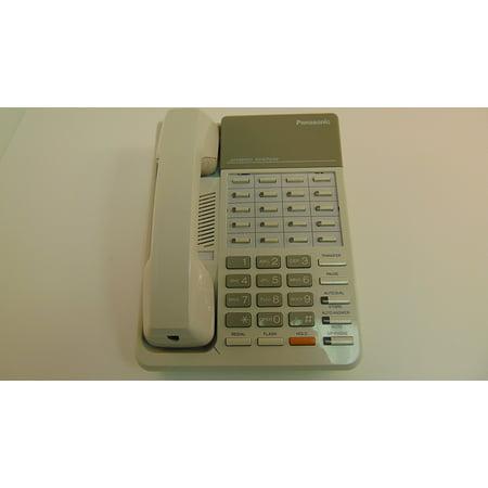 Panasonic Single Line Phone - Panasonic KX-T7020 12 CO Line Proprietary Telephone for Electronic Modular Switching System, White (used like new)