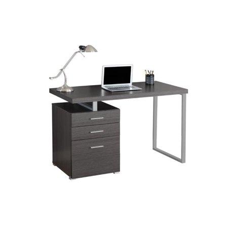 """Scranton & Co 48"""" Computer Desk in Gray - image 2 of 2"""