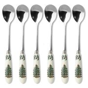Spode CHRISTMAS TREE S/6 Tea Spoons