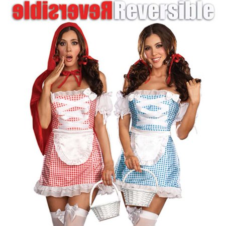 8ef62373b0f6c Fully Reversible Happily Ever After Costume Medium - Walmart.com