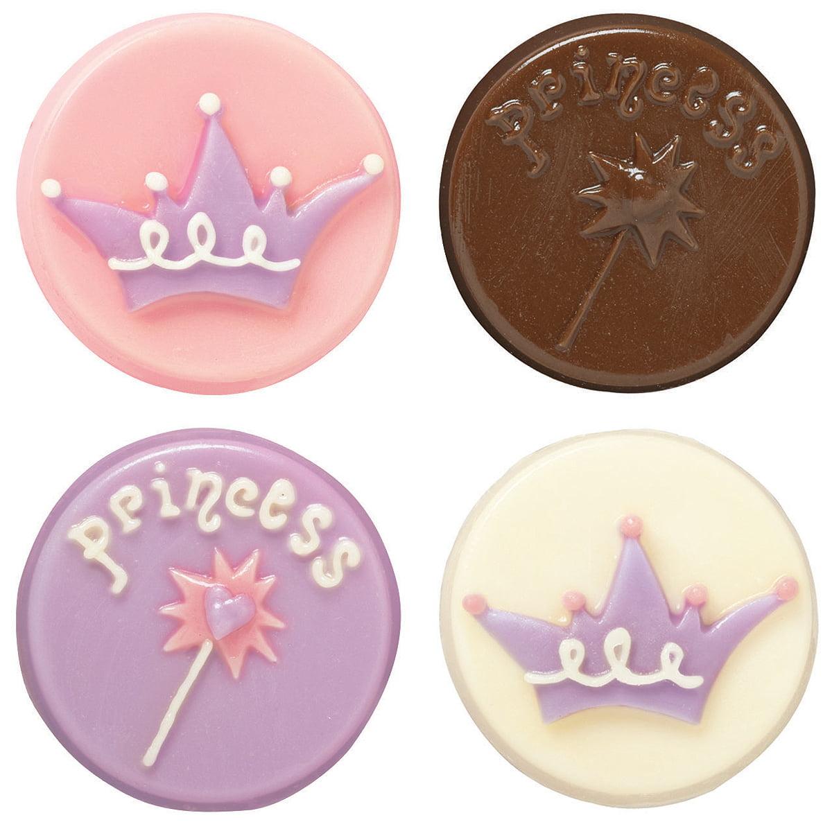 Cookie Candy Mold-Princess 8 Cavities
