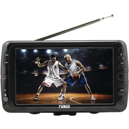 NAXA NT-70 7″ Portable TV & Digital Multimedia Player