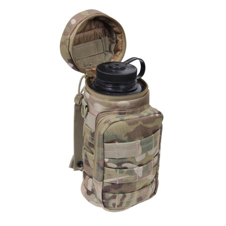 - Rothco MOLLE Compatible Water Bottle Pouch, Fits Bottle up to 10.5