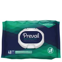 First Quality Personal Wipe Prevail Soft Pack Aloe / Vitamin E Unscented 48 Count Case of 576