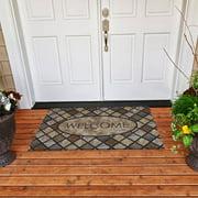"Mohawk Home Oval Stone Doormat, 1'6"" x 2'6"""