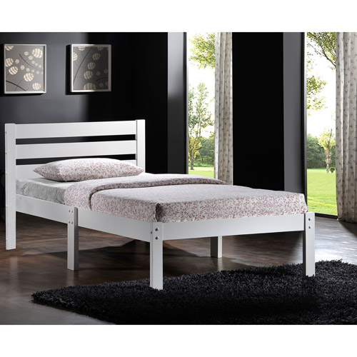 Dontao Wooden Twin Bed, Multiple Colors