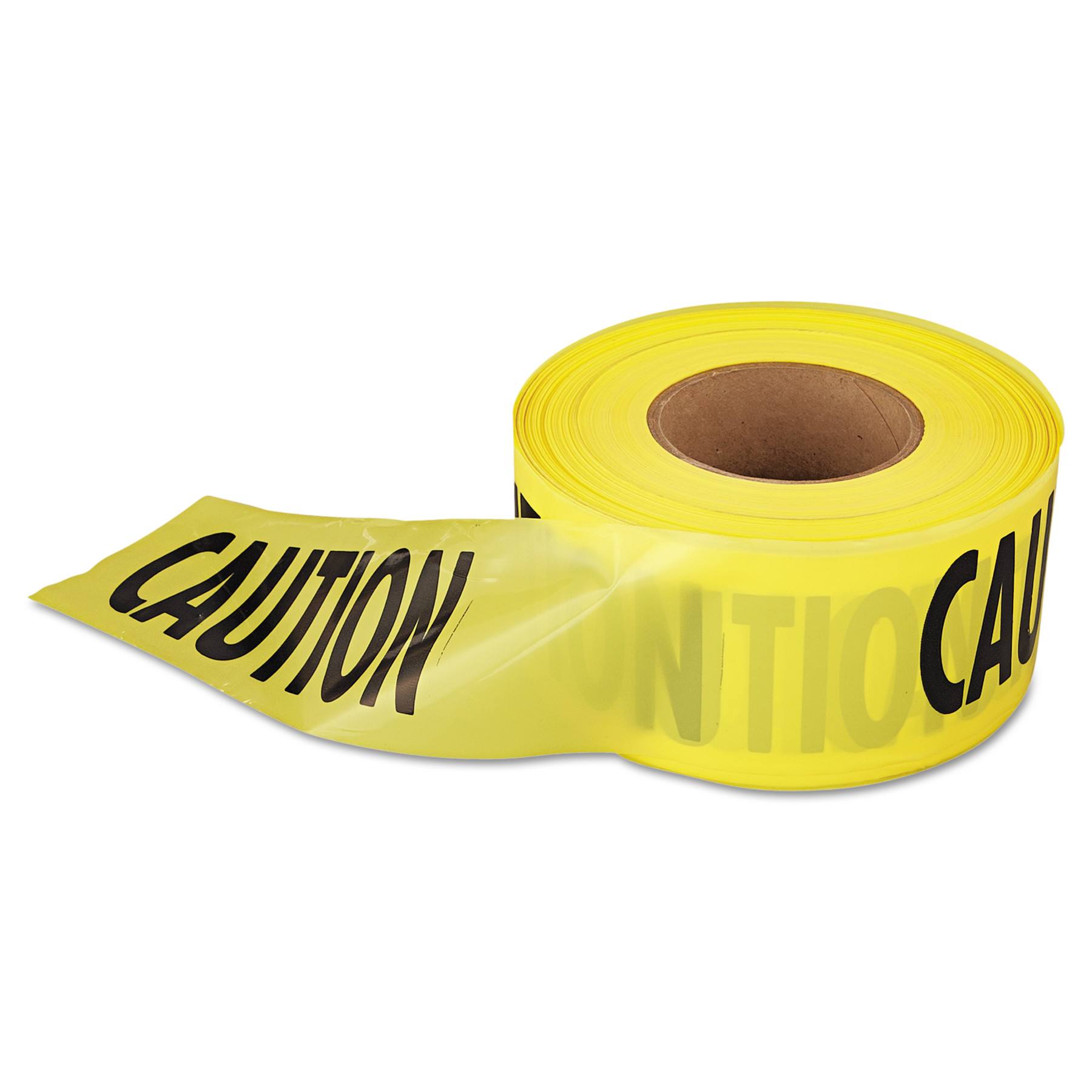 """Empire 1,000 ft. x 3 in. """"Caution"""" Barricade Tape (Yellow)"""