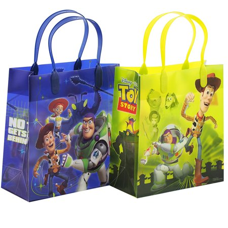Toy Story 12 Party Favor Reusable Goodie Medium Gift Bags 8
