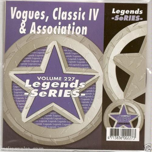 Vogues ASSOCIATION Classics IV Karaoke CDG