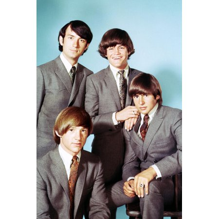 The Monkees Davy Jones Micky Dolenz Peter Tork Mike Nesmith Suits 24x36 Poster - Davy Jones Chest