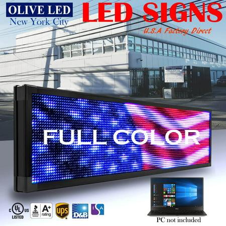 OLIVE LED Sign Full Color 12