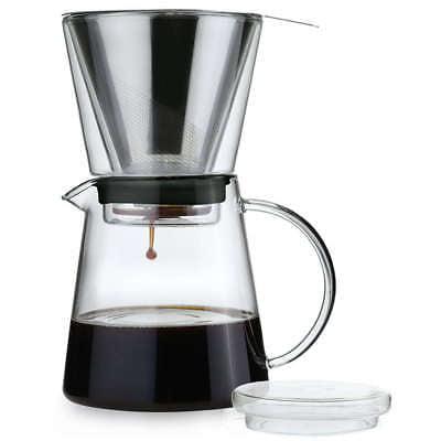 - Zassenhaus Coffee Drip 25oz Pour Over Coffee Maker / Brewer