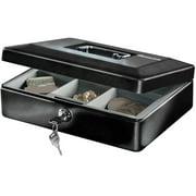 SentrySafe CB-10 Cash Box with Money Tray and Key Lock 0.12 cu. ft.
