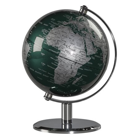"6"" Geographic Desk Globe, Fir Green"