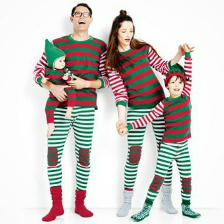 Xmas Kids Adult Family Matching Christmas Pajamas Sleepwear Nightwear Pyjamas (Christmas Jammies Halloween)