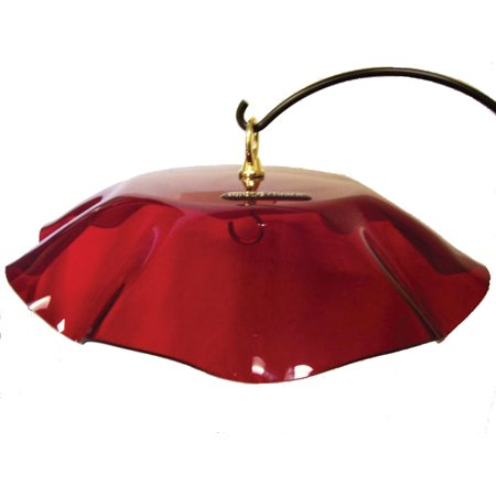 Birds Choice WGRED Weather Guard Red for Hummingbird, Nectar, & Seed Feeder