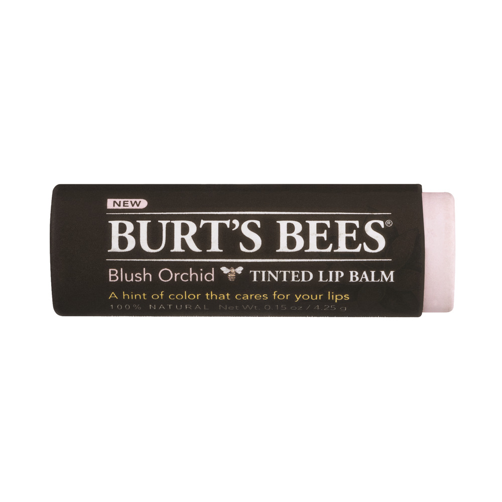 Burt's Bees Tinted Lip Balm Blush Orchid, 0.15 OZ