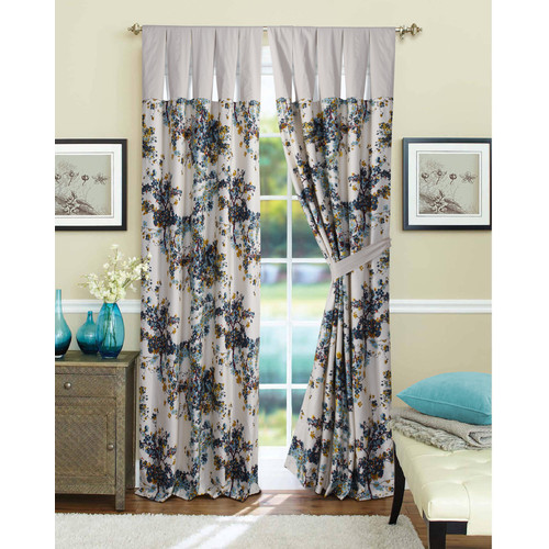 Tribeca Living Casablanca Curtain Panel (Set of 2)