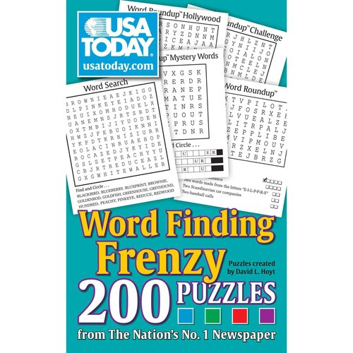 USA Today Word Finding Frenzy: 200 Puzzles
