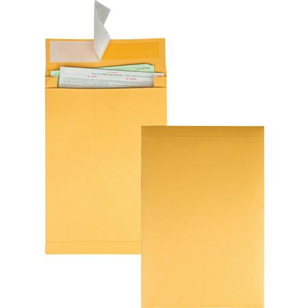 - Quality Park, QUA93336, Kraft Redi-strip Expansion Envelopes, 25 / Pack, Kraft