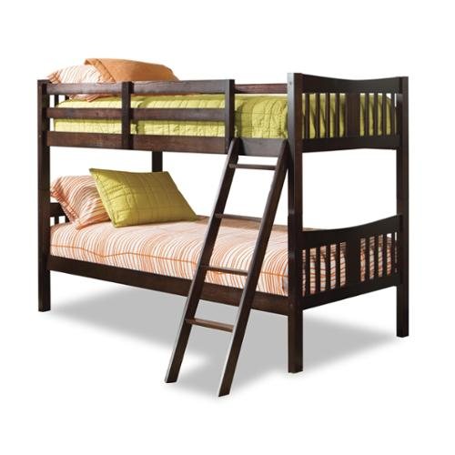 Caribou Bunk Bed-Finish:Espresso