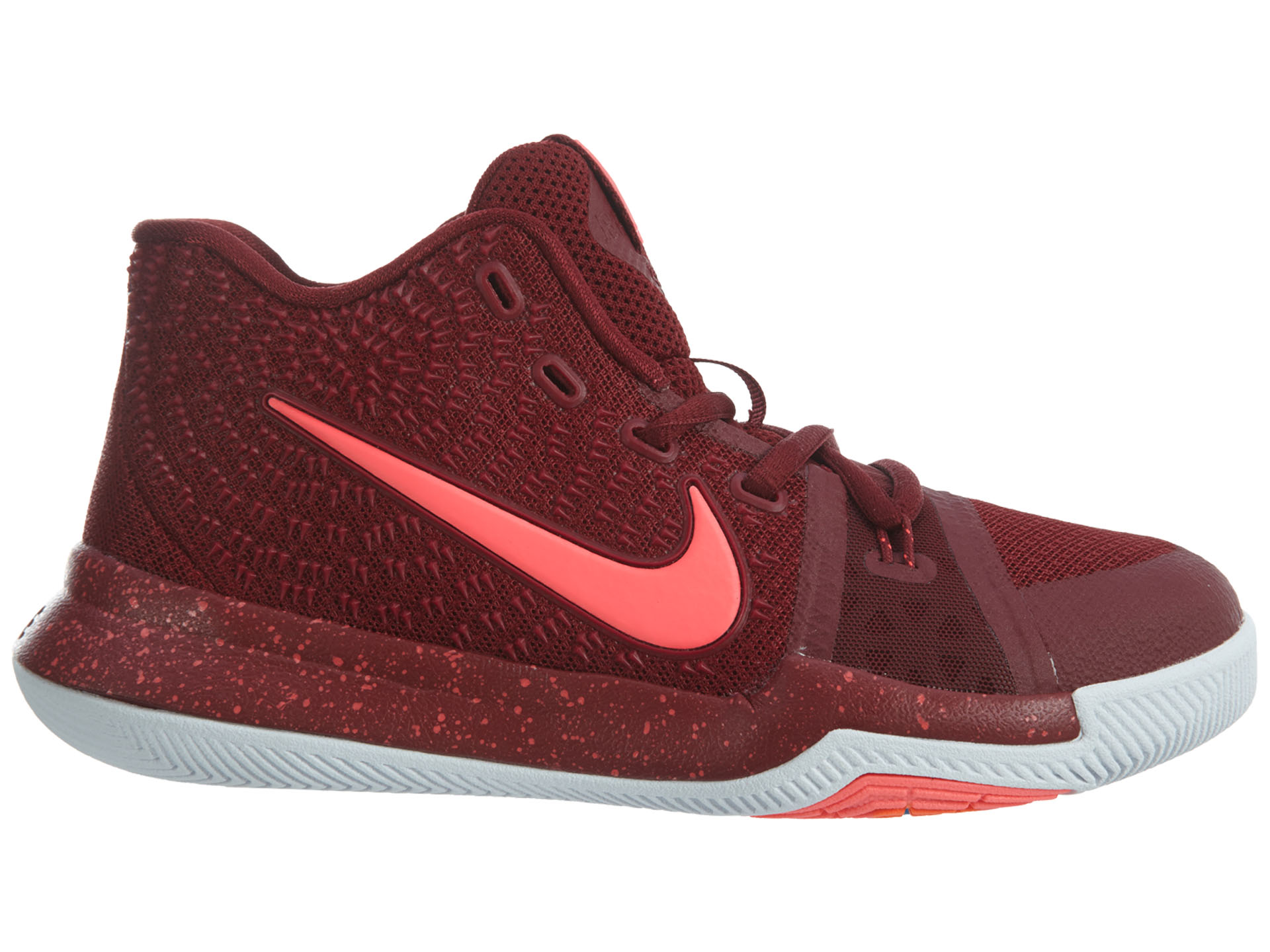 9d82fe89381a Nike - Kids Nike Kyrie 3 PS Hot Punch Team Red Total Crimson White Pink  Blast - Walmart.com
