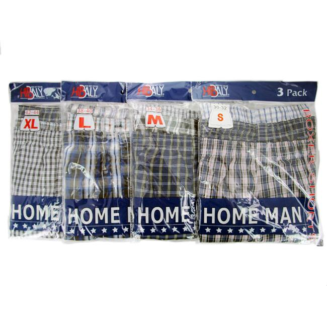 DDI 729389 Home Man Mens Boxer Shorts- Assorted Sizes Cas...