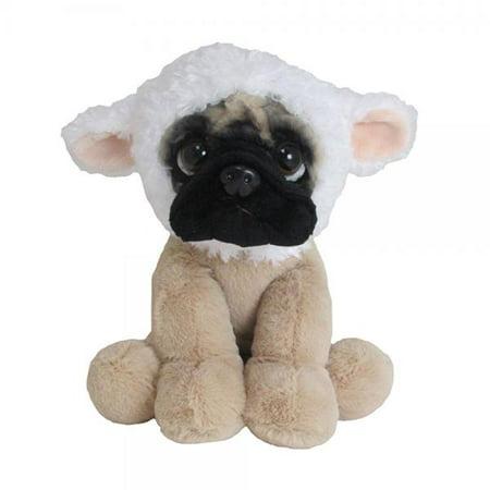 Doug the Pug Lamb Hat & Collar