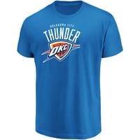 Men's Majestic Blue Oklahoma City Thunder Victory Century T-Shirt