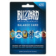 Battle.net Balance Store Gift Card $20, Blizzard Entertainment [Digital Download]